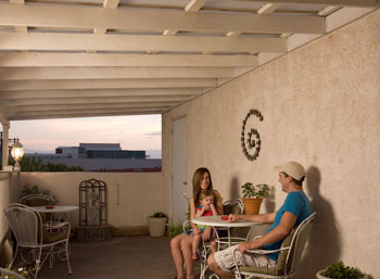 Enjoy Our Balcony Deck with a view