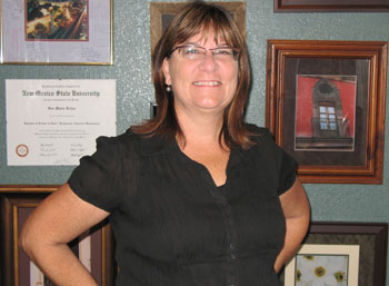 Innkeeper Sue Kehoe